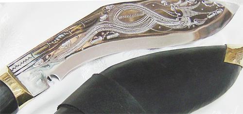 Khukuri Engraving