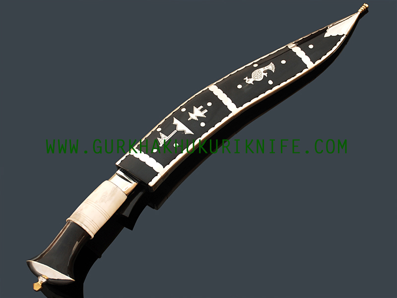 """12"""" Dhankute Tin Chire –Bone and Horn Handle"""