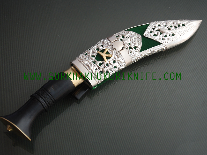 Silver Decorated Knife