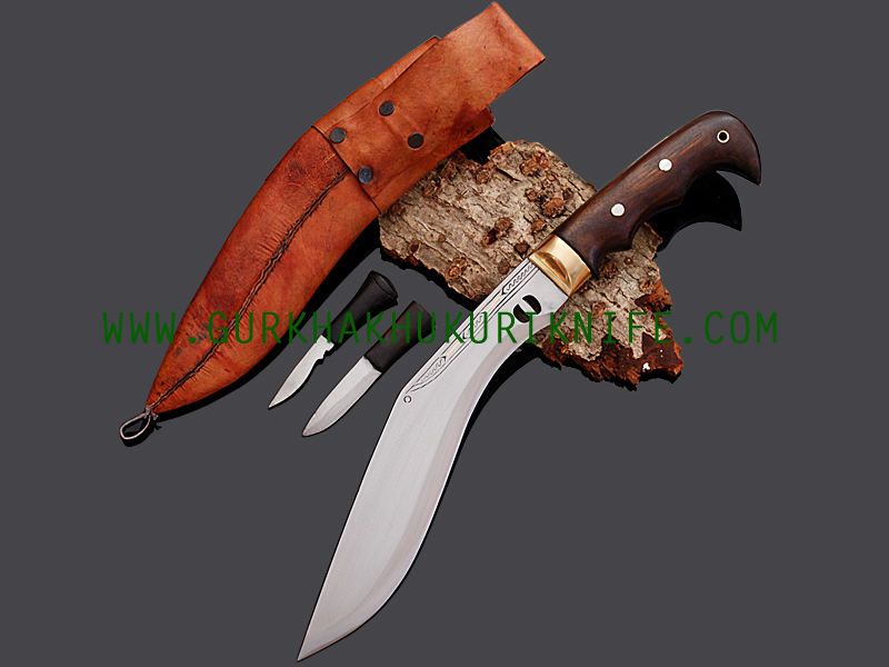 "10"" Eagle Chainpure Kukri Knife"