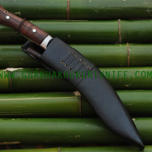 "10"" Ankhola Jungle Khukuri – Wooden Handle"