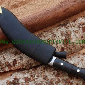 "10"" Bhojpure Panawala Khukuri Knife – Horn Handle"