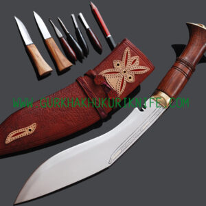 "10"" Ganjuwal Parawala Khukuri Knife"