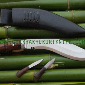 "10"" Jungle Dui Chire Ankhola Khukuri Knife"