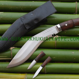 "10"" Jungle Dui Chire Ankhola Khukuri Knife"