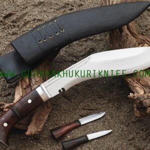 "10"" Ankhola Jungle Dui Chire Khukuri Knife"