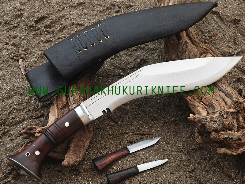 "10"" Ankhola Jungle Dui Chire Khukuri Knife"