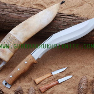 "11"" Afgan Khukuri Knife – Wooden Handle"