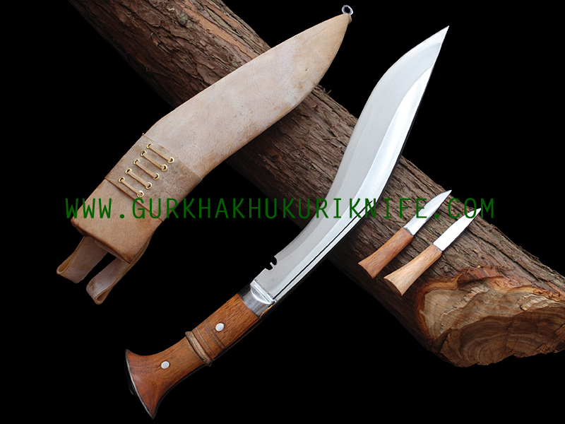 "11"" Iraqi Dui Chire Khukuri Knife"