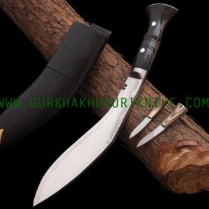 "14"" Bhojpure Panawala Khukuri Knife - Horn"
