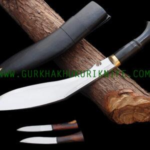 """14"""" Bhojpure Khukuri Knife - Horn"""
