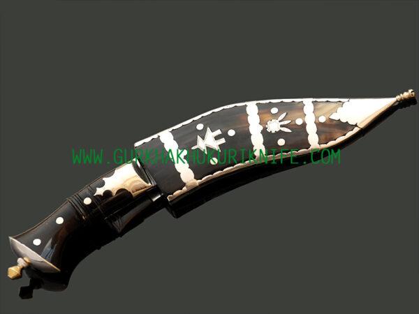 "7"" Dhankute Char Chire Khukuri Knife"