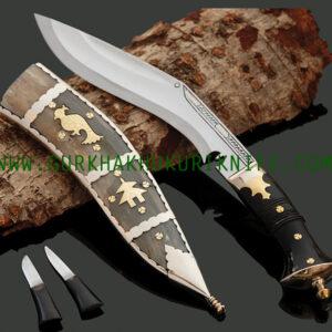 """8"""" Dankute Angkhola Khukuri Knife - Seto"""