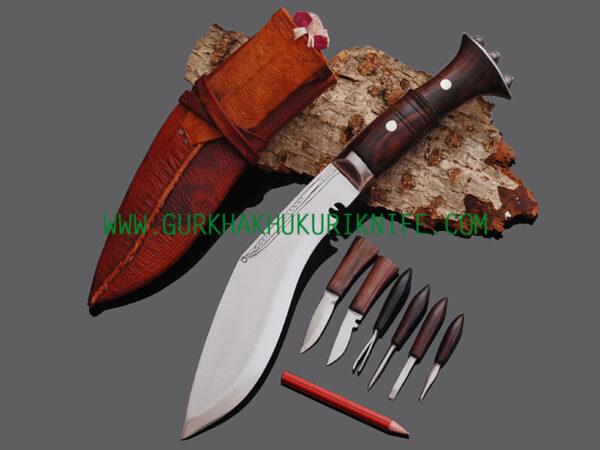 "8"" Ganjuwal Panawala Khukuri Knife"