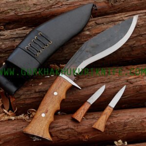 "8 "" Iraqi Black Khukuri Knife"
