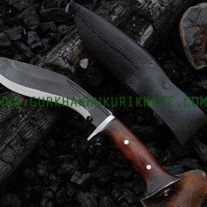 "8"" Black Iraqi Khukuri Knife"