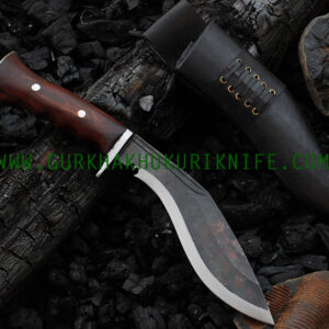 "8 "" Iraqi Black– Wooden Handle"