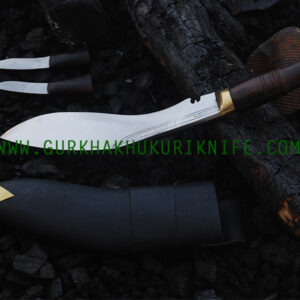 "9"" Bhojpure Parawala Khukuri Knife – Wooden Handle"