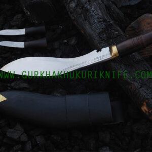 "9"" Bhojpure Parawala Khukuri Knife – Wooden Handle"