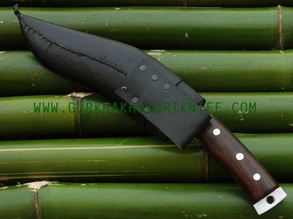 "9"" Chukuri Knife Wooden Handle"