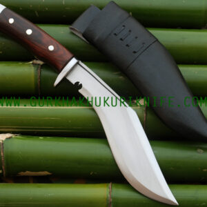 "9"" Afgan Panawala Chukuri Khukuri Knife – Wooden Handle"