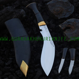 "9"" Bhojpure Parawala Khukuri Knife – Horn Handle"