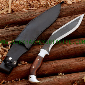 "10"" Endure Rust Free Eagle Khukuri - Leather"