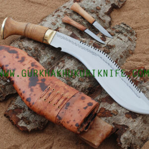 "13"" Dragon Khukuri Knife"