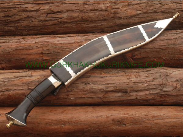 "12"" Tin Chire Dhankute Khukuri Knife"