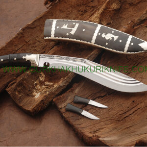 "12"" Three Fuller Dhankute Kukri Knife"