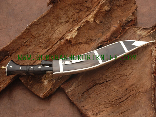 """12"""" Three Fuller Dhankute Kukri Knife"""
