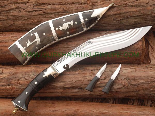 "10"" Char Chire Dhankute Khukuri Knife"