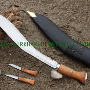"15"" Dotted Panawal Khukuri Knife"