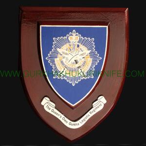 The Queen's Own Gurkha Logistic Regiment Plaque