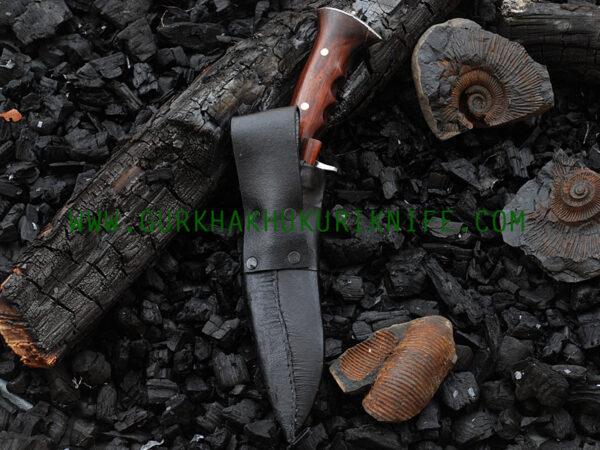 Small Iraqi Black Khukuri Knife