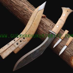 """11"""" World War Kabjawal Kukuri Knife"""
