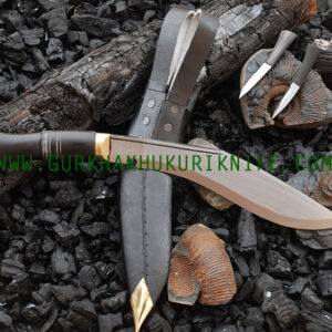 "10"" Jungle War Kukri Knife"