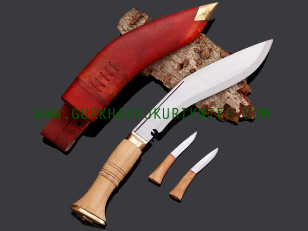 "10"" Jungle War Khukuri Knife - Red"