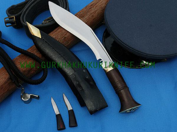 "9"" Nepal Police Khukuri Knife"