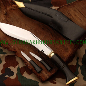 "11"" World War II Kukri Knife -Horn"