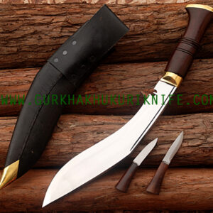 "11"" World War II Kukri Knife - Wooden"