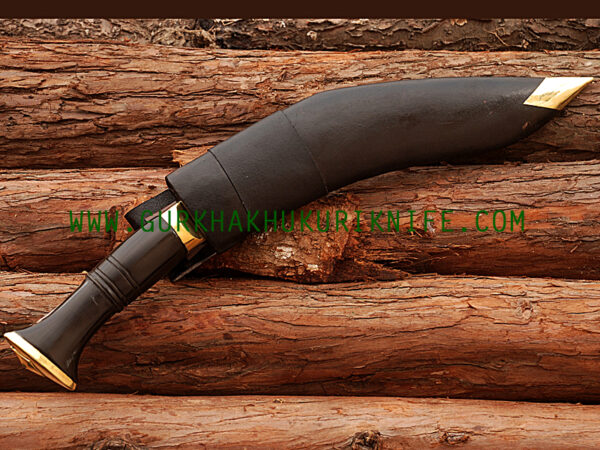 "11"" World War II Khukuri Knife - Horn"