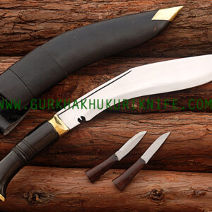 "11"" World War II Khukuri Knife - Horn"